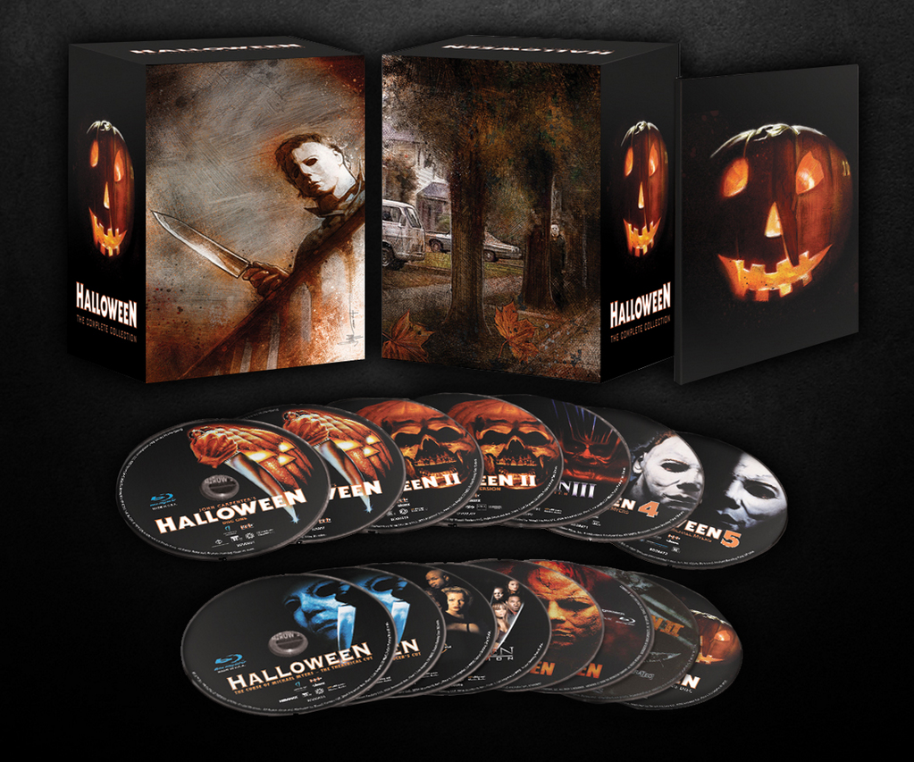halloween the complete collection blu ray - haunted attraction online