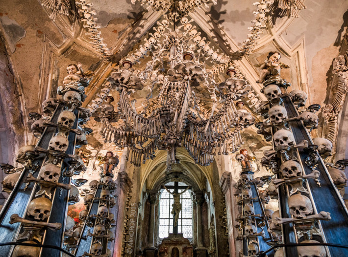 You won't Believe the Church of Bones!