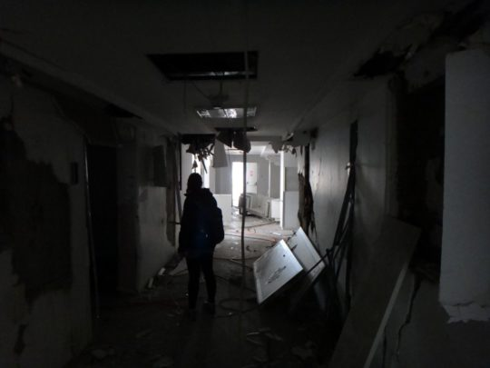 Exploring an insanely creepy abandoned hospital