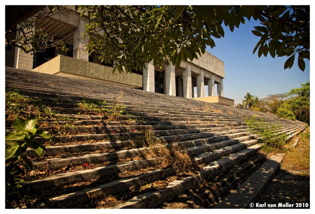 abandoned manila film center