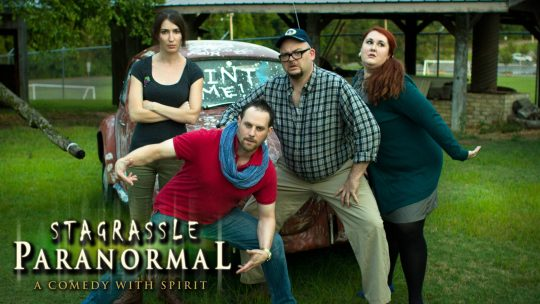 New Series looks at the lighter side of Paranormal investigators!
