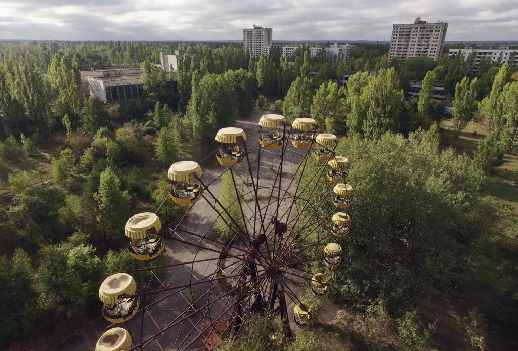 PRIPYAT, UKRAINE - SEPTEMBER 30: Photo by Sean Gallup/Getty Images)