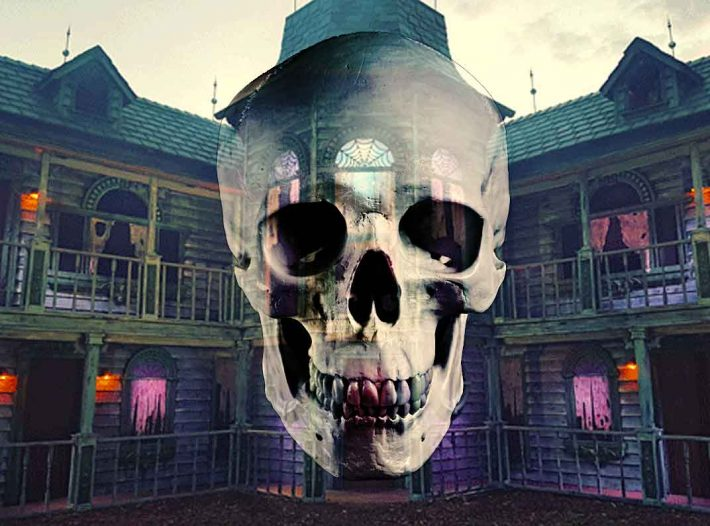 The Real Human Remains Discovered Inside A Haunted House Attraction
