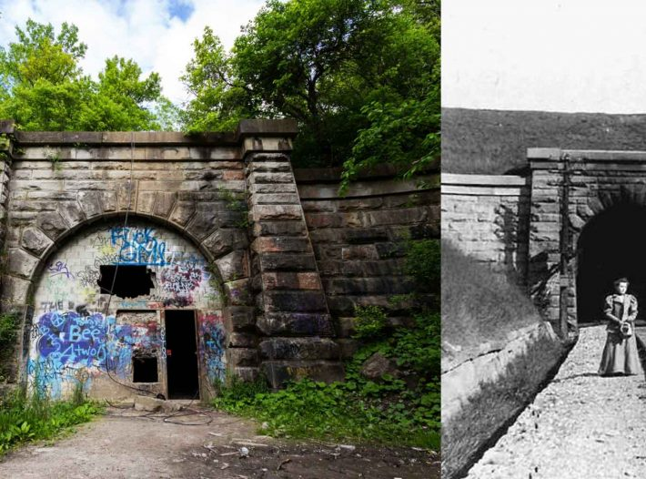Blue Ghost Tunnel might be the most haunted place in Ontario!