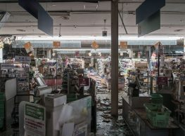 Abandoned supermarket in Fukushima, where time is stands still!