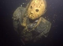 Jason Vorhees is lurking under a lake in Minnesota!