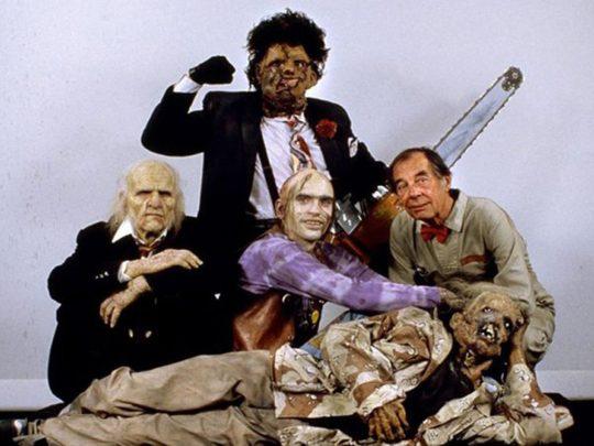 TSA Agents Detain Texas Chainsaw Corpse!
