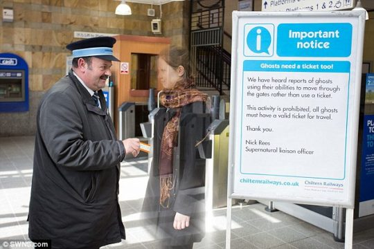 Why Does Leamington Spa Station Need A Supernatural Liaison Officer?