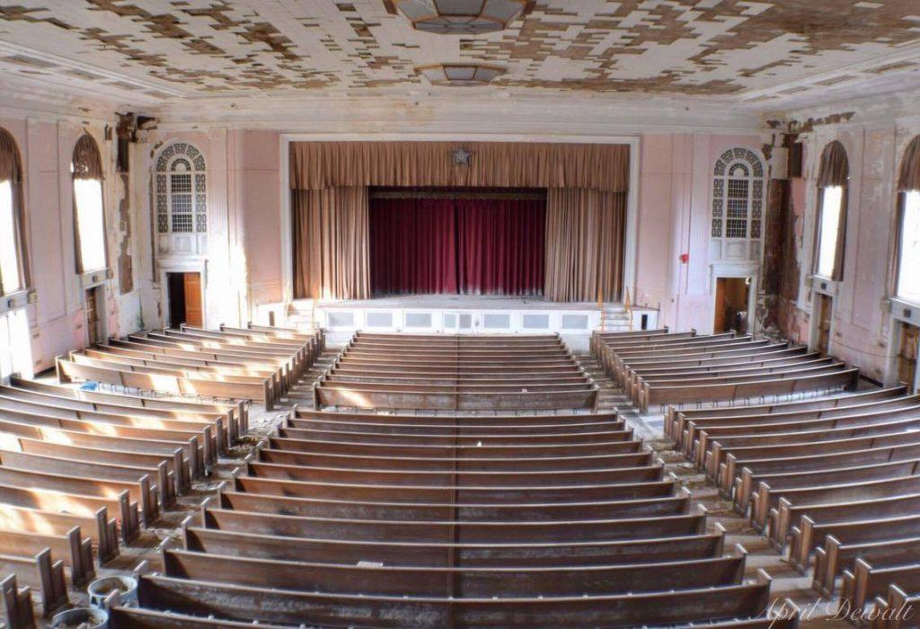 creepy abandoned theater