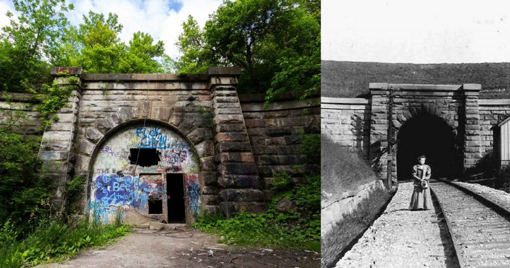 blue ghost tunnel might be the most haunted place in ontario