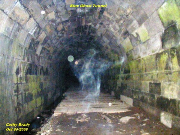 Haunted Blue Ghost Tunnel