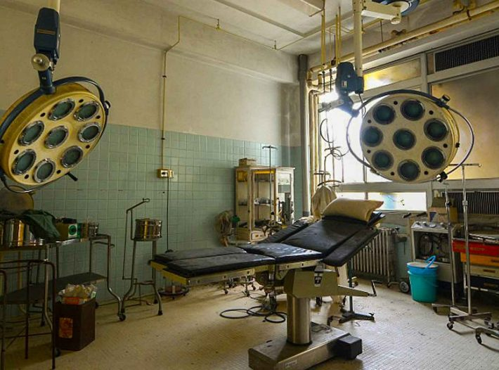 Explorers find perfectly preserved hospital on Abandoned Island!