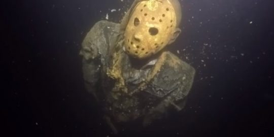 Jason Vorhees is lurking under a lake in Minnesota!